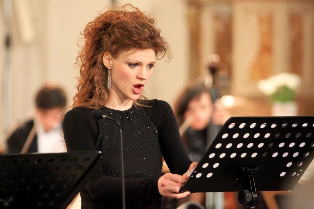 Marie Fajtová v roli Marie, Fr. Schubert: Lazarus, 15.4.2012